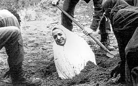 stoning woman