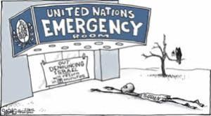 un out denouncing israel