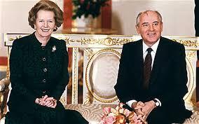thatcher gorbachev